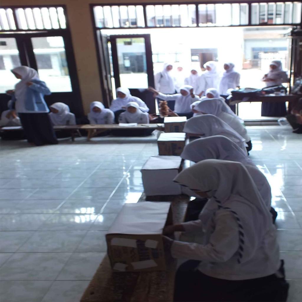 Pemilihan OSIS MTs Zainul Hasan Genggong