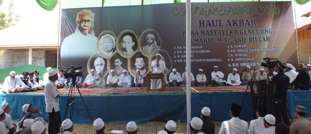 Habib Riziq memberikan tausyiah