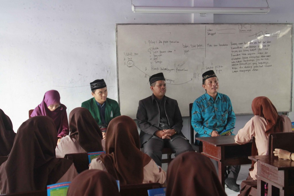 sosialisasi UIN sunan kalijaga kepada MA Zainul Hasan Genggong